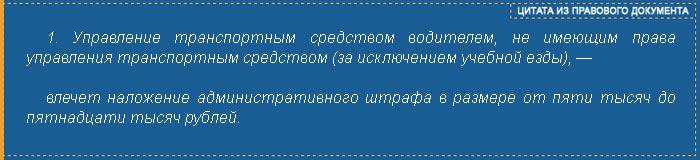 Часть 1 статьи 12.7 КоАП РФ - цитата из правового документа