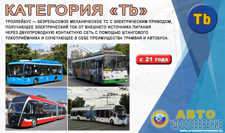 Категория Tb - какие транспортные средства можно водить